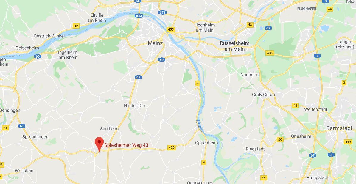 Adresse N8 Hotel Wörrstadt -Google Maps